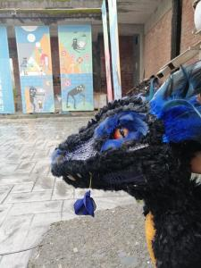 Dragon puppet