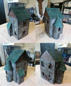 Haunted House made with Anna Møller Kjeldgaard