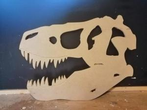 CNC T-rex made in Fusion360